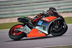 First race of the season for Aprilia
