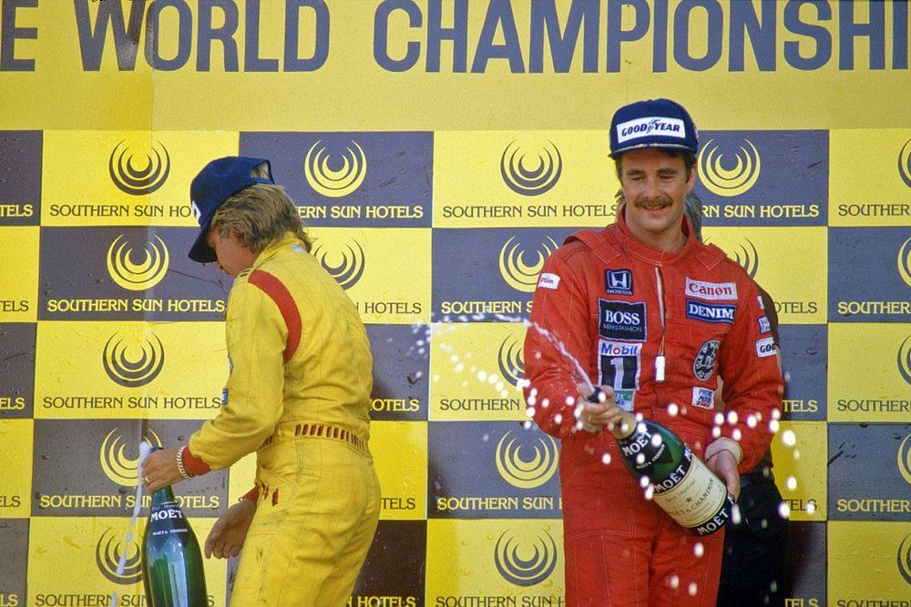 Ezért választotta a Williams Mansellt 1985-ben