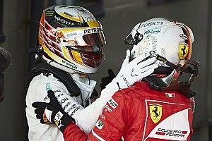 Hamilton: Vettel lebih tangguh ketimbang Rosberg