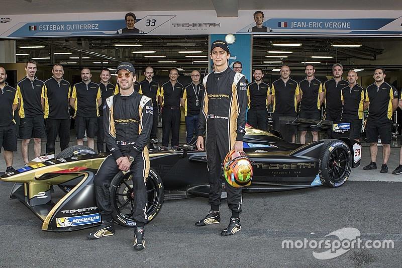 GALERÍA: equipo de Esteban Gutiérrez se toma la foto oficial