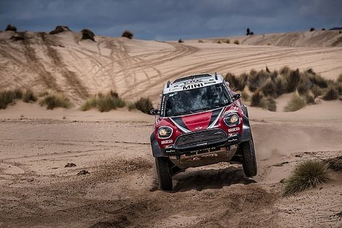 Hirvonen feels second Dakar run deserved better result