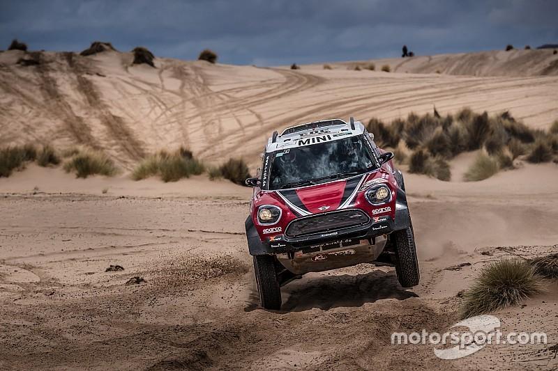 Hirvonen feels second Dakar run deserved better result