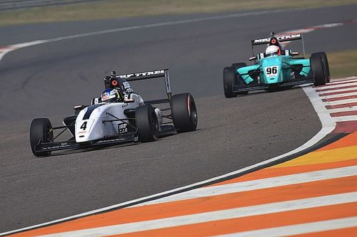 Buddh MRF Challenge: Newey wins finale, Schumacher crashes out
