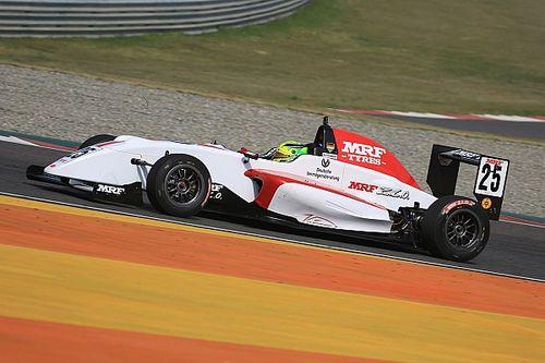 Buddh MRF Challenge: Schumacher clinches maiden pole