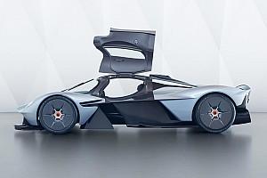Auto Actualités Les premières photos réelles de l'Aston Martin Valkyrie!