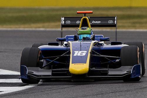 GP3-coureur Baptistakan ondanks rugpijn racen in Silverstone
