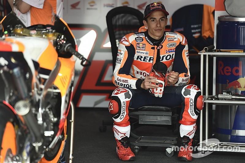 Marquez dan masalah akselerasi Honda