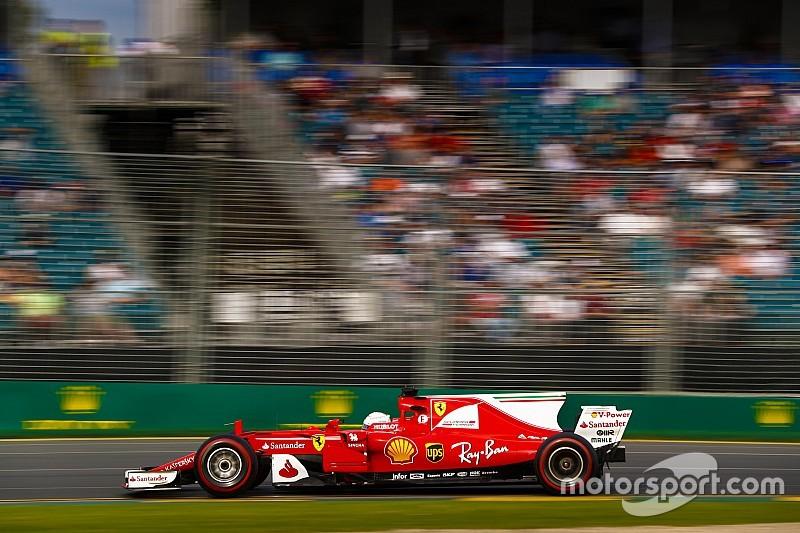 【F1】オーストラリアGP FP3:跳ね馬首位。0.4秒差でメルセデスを下す