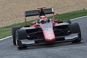 Mercedes-junior Russell het snelst op eerste GP3-testdag