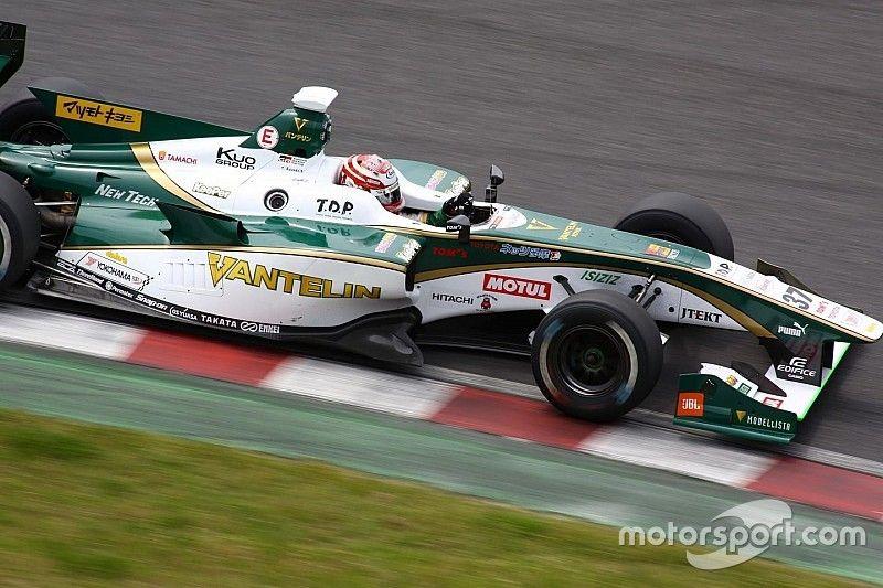 Казуки Накаджима победил в первой гонке нового сезона Суперформулы