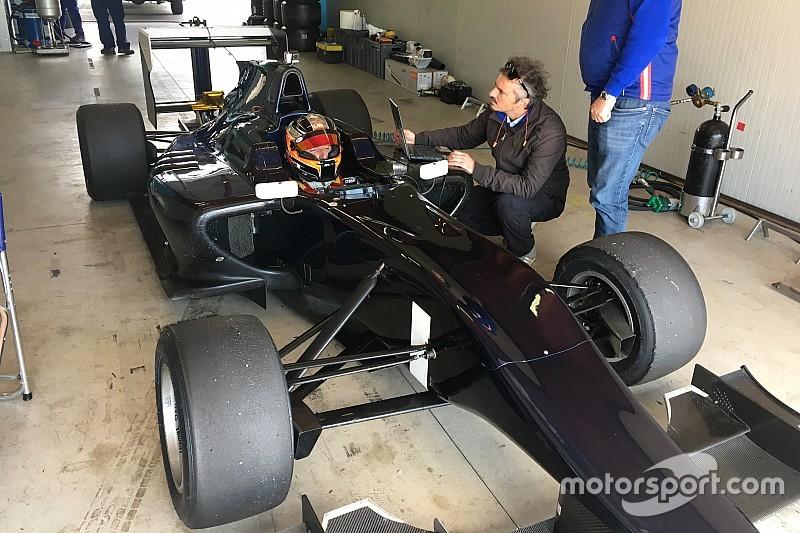 Fotogallery esclusiva: il test di Kubica a Franciacorta su una GP3