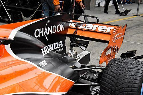 Gallery: Key F1 tech spy shots at Chinese GP