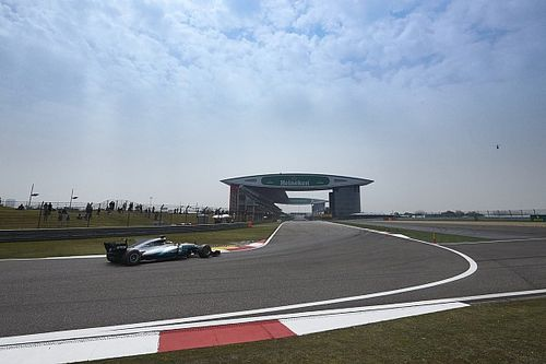 Chinese GP starting grid in pictures