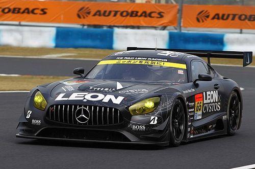 【スーパーGT】岡山予選GT300:赤旗で明暗。LEON AMGポール獲得