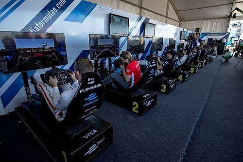 """Las Vegas, i dieci piloti """"virtuali"""" abbinati ai team di F.E"""