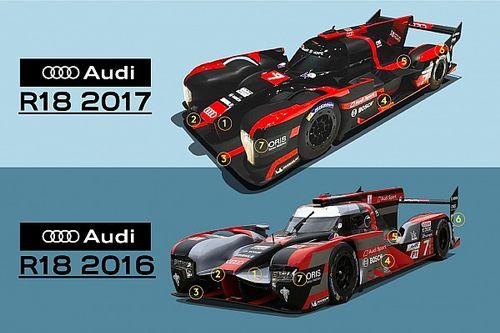 分析:若未退出WEC,奥迪2017版赛车将采用怎样的设计?