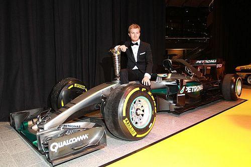 Nico Rosberg fue premiado en Alemania