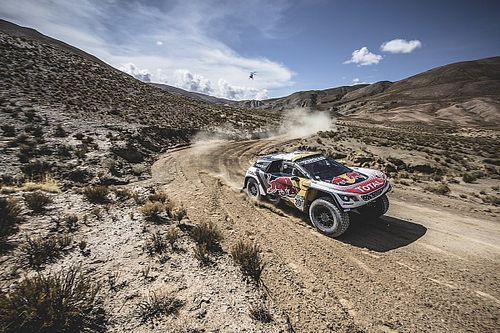 Dakar 2017, Stage 5: Loeb fastest, Peterhansel moves to the lead