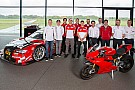 General Lorenzo, en la reunión de pilotos Audi Sport