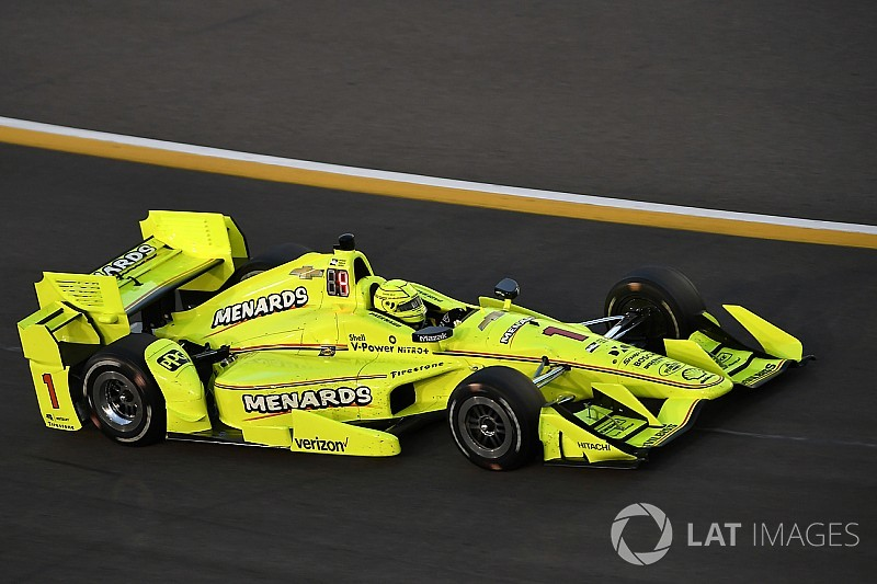 Iowa IndyCar: Pagenaud tops evening practice