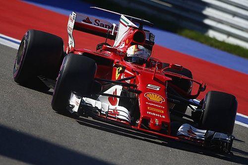 """Sebastian Vettel nach Platz 2 für Ferrari in Sochi: """"Habe alles versucht"""""""