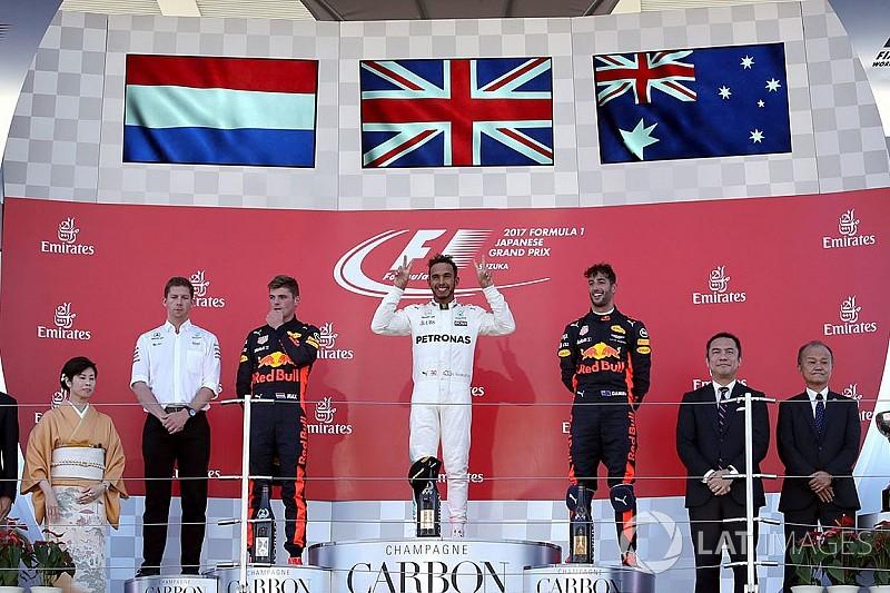 Ecco la classifica del Mondiale Piloti con Hamilton in fuga