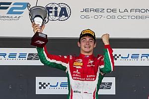 FIA F2 Nieuws Charles Leclerc draagt F2-titel op aan overleden vader