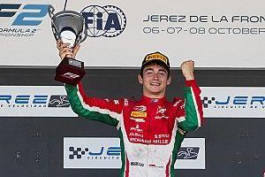 Leclerc dedica il titolo di Formula 2 al padre recentemente scomparso