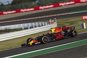 Un neumático ampollado complicó a Verstappen, reveló Horner