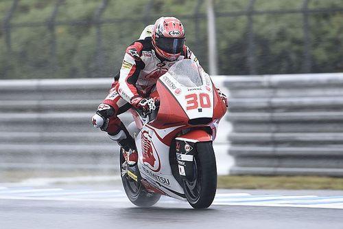 Moto2 Jepang: Nakagami start terdepan, Morbidelli ke-15