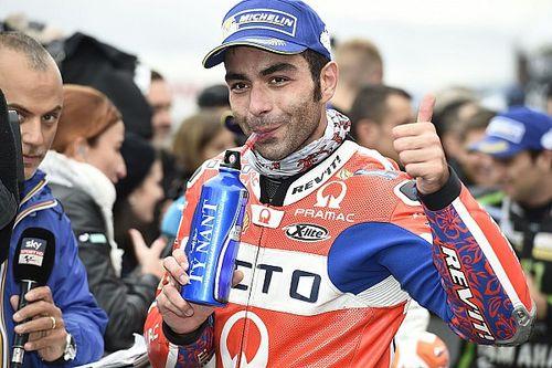 """Petrucci feiert """"unerwartete"""" erste Startreihe im MotoGP-Qualifying von Motegi"""