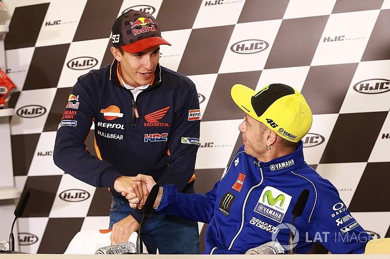 """Marquez punge Rossi: """"L'esperienza non basta per vincere il titolo"""""""