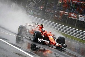 New pit straight surface made Monza trickier in wet