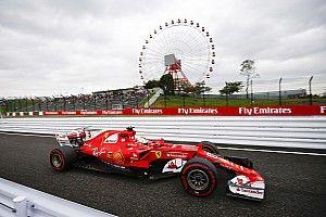 2017 Japonya GP 1. antrenman: Vettel lider, Hamilton 2.