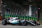 Mercedes na Singapore-dip: