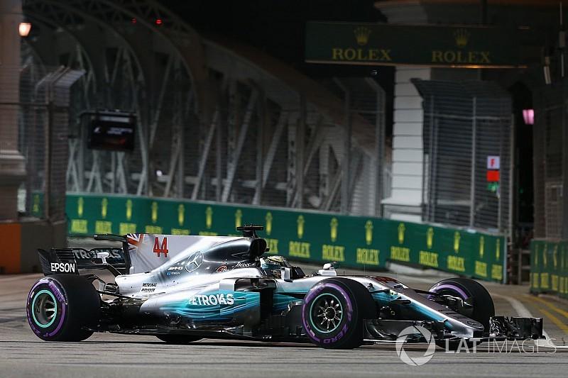 Formel 1 2017 in Singapur: Startcrash und Hamilton-Sieg
