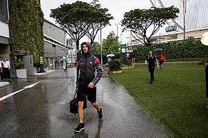 Formel 1 News F1 2017 in Singapur: Regen laut Grosjean problematisch