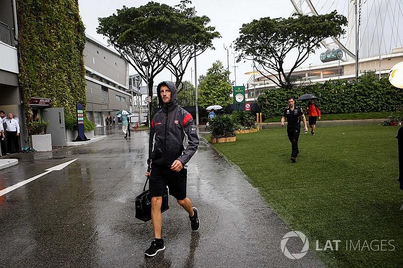 Grosjean unsure wet Singapore GP is viable