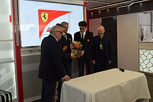 Formula 1 Ultime notizie Trofeo Bandini: consegnato il premio 2017 alla Scuderia Ferrari