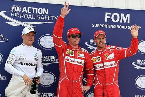Monaco GP: Raikkonen beats Vettel to pole, Hamilton out in Q2