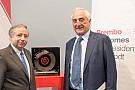 Formula 1 Jean Todt ha visitato la sede della Brembo a Curno