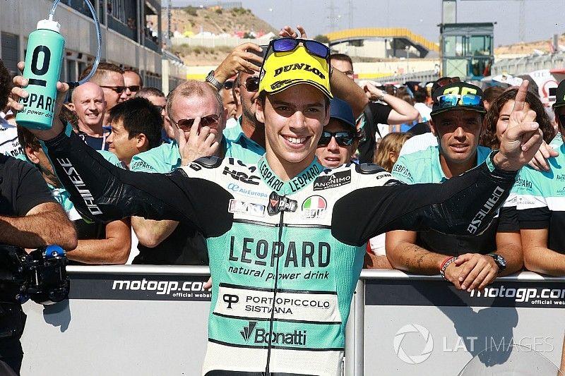 Aragon Moto3: Mir wins thrilling sprint by 0.043s