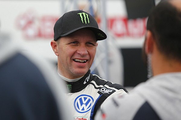 World Rallycross Solberg suffers broken collarbone in Latvia crash