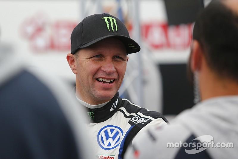 Petter Solberg si è fratturato una clavicola nell'incidente in Lettonia