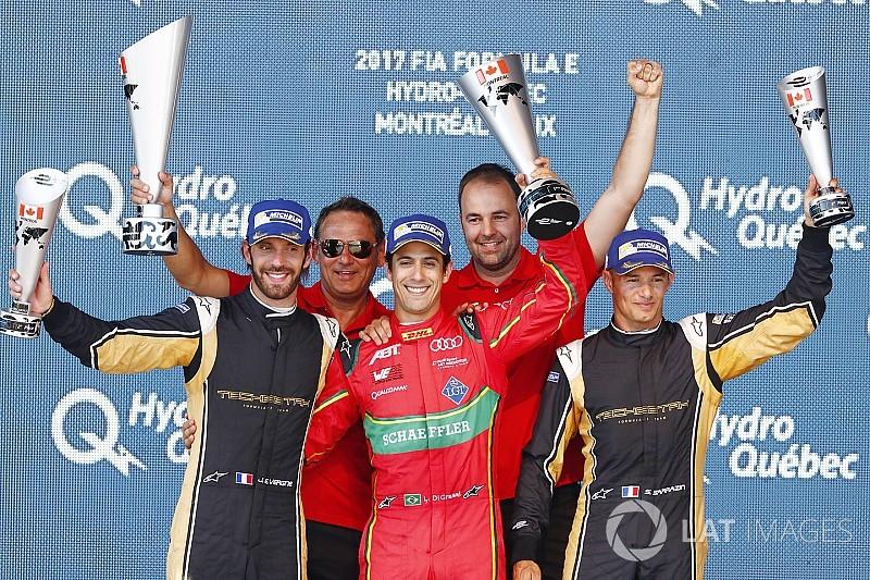 Colpo di scena a Montréal: in Gara 1 vince Di Grassi ed è leader!