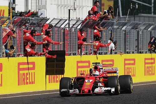 Fotogallery: la doppietta Ferrari al GP d'Ungheria 2017