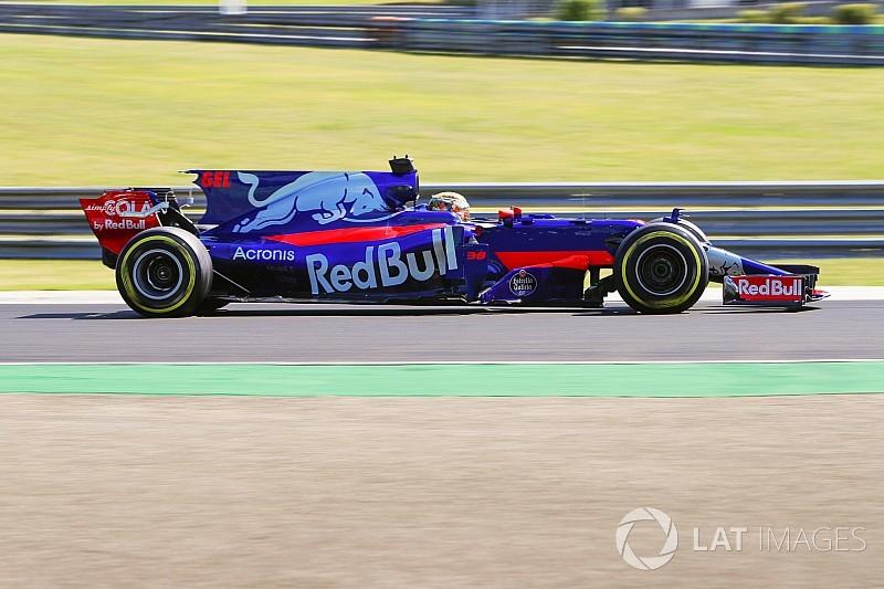 GALERI: Aksi para rookie di tes F1 Hongaria