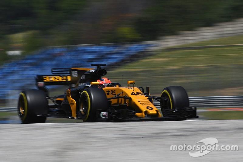 F1-Test 2017 in Budapest: Vettel am schnellsten, Kubica auf Rang 4