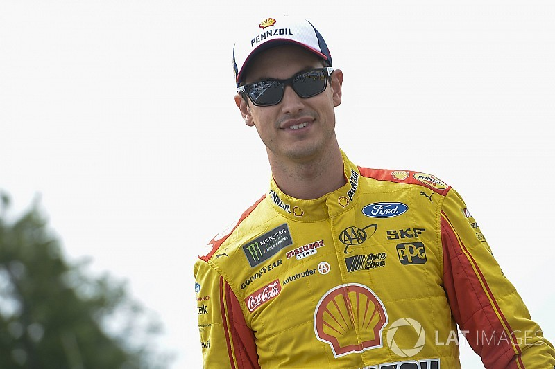 """Logano on fatherhood: """"You don't know what you don't know"""""""