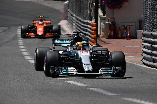 """L'irrégularité de Hamilton à Monaco reste un """"mystère"""" pour Mercedes"""